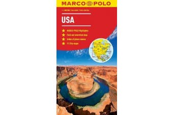 USA Map (Marco Polo Maps)