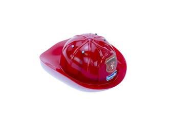 (10220 - Fireman Hat) - Bruder 10220 Red Fireman Helmet, Red