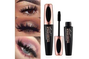 Ginkago 4D Silk Fibre Eyelash Mascara Extension Makeup Waterproof Curling Natural Eye Makeup Long Lasting, 8 Pcs Set