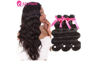 (18 18 18) - Ali Pearl Brazilian Body Wave Virgin Human Hair 3 Bundles Unprocessed Body Wave Hair 3 Bundles Hair Extentions Wholesale Hair Deal (18 18 18)
