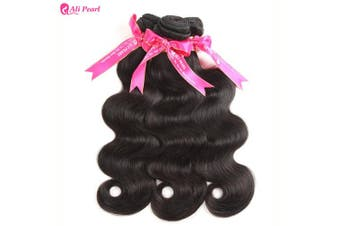 (12 14 16) - Ali Pearl Brazilian Body Wave Virgin Human Hair 3 Bundles Unprocessed Body Wave Hair 3 Bundles Hair Extentions Wholesale Hair Deal (12 14 16)