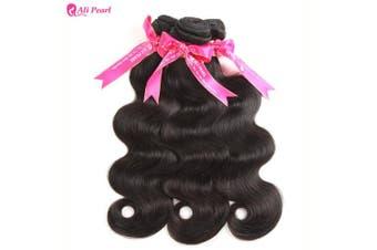(14 16 18) - Ali Pearl Brazilian Body Wave Virgin Human Hair 3 Bundles Unprocessed Body Wave Hair 3 Bundles Hair Extentions Wholesale Hair Deal (14 16 18)