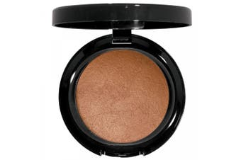 (South Beach) - Beauty Deals Baked Bronzing Powder Satin Smooth Texture, Radiant Glowing Finish (South Beach)