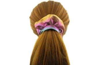 (Multicolored-1) - Shiny Metallic Scrunchies, BETITETO Women Girls Mermaid Hair Scrunchie Elastics Ponytail Holder for Gym Dance Party Club, Set of 8 (Multicoloured-1)