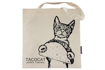 (Tacocat) - Cat Tote Bag by Pet Studio Art