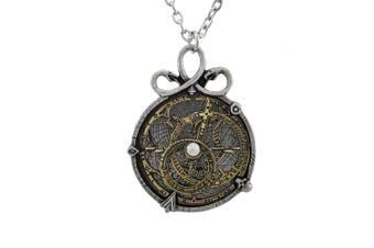 Anguistralobe Alchemy Gothic Astrolabe Pendant Necklace