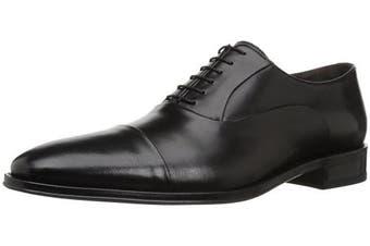((7W) US, Black Nappa) - Bruno Magli Men's Maioco Lace-Up Dress Shoe