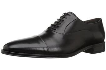 (12 W, Black Nappa) - Bruno Magli Men's Maioco Lace-Up Dress Shoe
