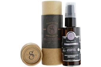 (Lavendar) - Suavecito Premium Blends Beard Oil - Lavender Beard Conditioning Serum for Men (30ml)