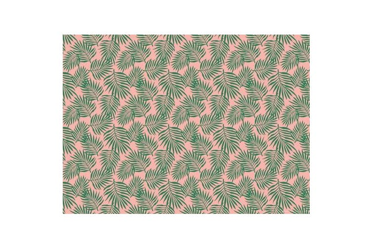Botanical Gift Wrap Collection, Easy to Store FOLDED Flat Sheets with Palm Leaves, Monstera Leaves, and Cactus, made in America by REVEL & Co