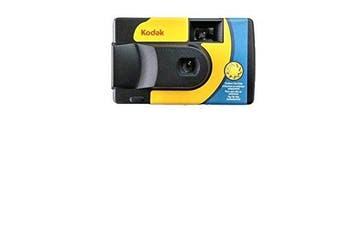 Kodak SUC Daylight 39 800iso Disposable Analogue Camera – Yellow and Blue