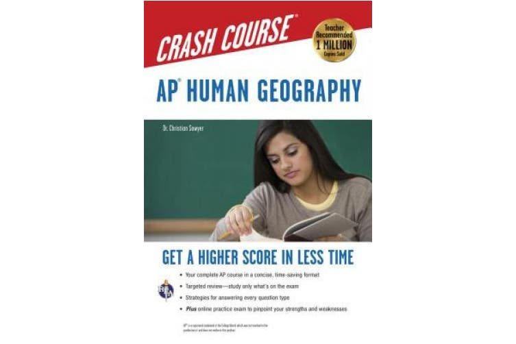 Ap(r) Human Geography Crash Course Book + Online (Advanced Placement (AP) Crash Course)