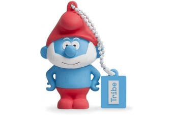 (16 GB, Papa Smurf) - USB stick 16 GB Papa Smurf - Original the Smurfs Flash Drive 2.0, Tribe FD002506