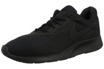 (12 UK, Black (Black/Black/Anthracite)) - Nike Men's Tanjun Trainers