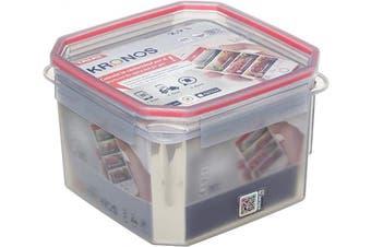 (Square, 2.9 l) - TATAY Food Container Square 18.8 x 18.8 x 12.7 Translucent