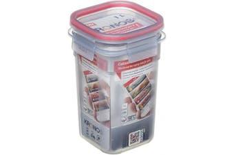 (Square, 1 L) - TATAY Food Container Square 18.8 x 18.8 x 10 Translucent