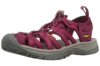 (5 US Women, Red (Beet Red/Honeysuckle)) - KEEN Women's Whisper Multisport Outdoor Shoes