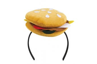 Boland 04269 Hair Band Burger Queen Costume, One Size