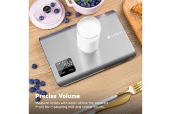 (5 Kg) - Etekcity EK 7017 Digital Kitchen Food Multifunction Scale, 11 Lb 5 kg, Stainless Steel (Batteries Included)