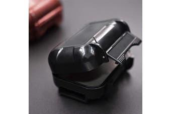 (Black) - KZ ABS Hard-Sided Multifunction Protective Case for Earphones, In-Ear Monitors, Eartips (Black)