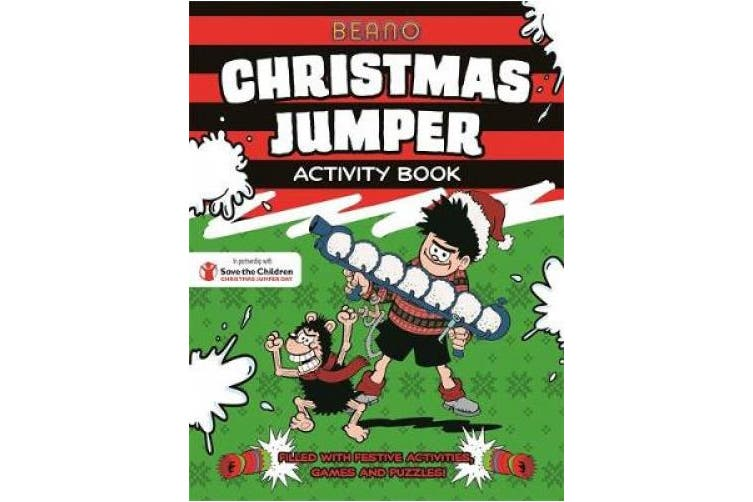 Beano Christmas Jumper Activity Book (Beano)