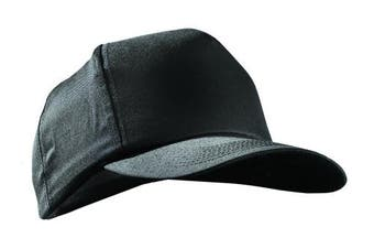 (Baseball Style Bump Cap, Black) - Occunomix V410-B06 Vulcan Baseball Bump Cap, Black