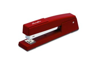 Swingline 747 Classic Desk Stapler in Lipstick Red(S7074718E)