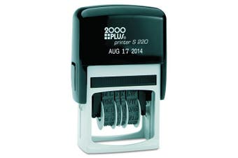 Cosco 2000 Plus Economy Type Size 3.8cm Self-Inking Dater (010129)