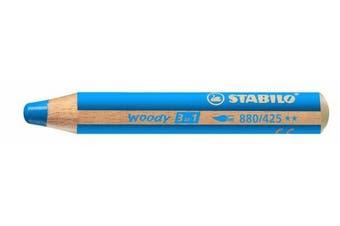 (Blue) - Stabilo Woody 3 in 1, Blue
