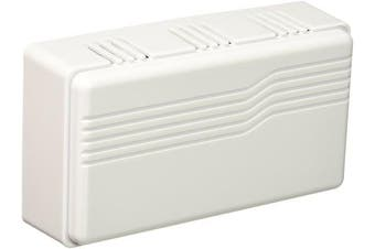 (White) - Heath Zenith SL-2796-02 Basic Series Wired Door Chime, White