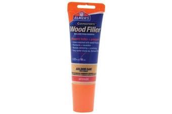(100ml, Golden Oak) - Elmer's E861 Carpenter's Wood Filler, 100ml Tube, Golden Oak
