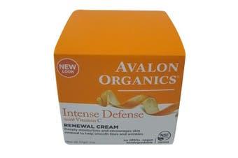 (60ml) - Avalon Organics Intense Defence with Vitamin C Renewal Cream, 60ml
