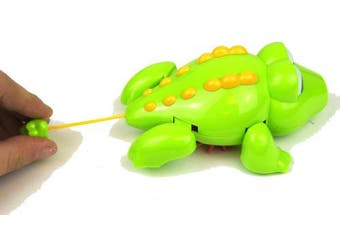 Bath Time Wind Up Swimming Toy - Crocodile Design - Suitable From 24 Months