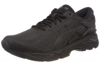 (7.5 UK, Black (Black/Black/Carbon 9090)) - Asics Men's Gel-Kayano 24 Running Shoes