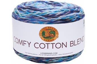 (Ocean Breeze) - Lion Brand Comfy Cotton Blend Yarn