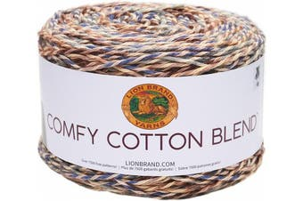 (Driftwood) - Lion Brand Comfy Cotton Blend Yarn