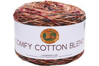 (Fireside) - Lion Brand Comfy Cotton Blend Yarn