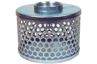 (5.1cm  ID) - Apache 70000504 Round Hole Suction Strainers, Plated Steel, 5.1cm