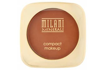 (Deep) - Milani Mineral Compact Makeup, Deep, 10ml