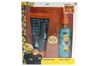 Despicable Me 3 Air-Val International 2 pc Gift Set For Kids