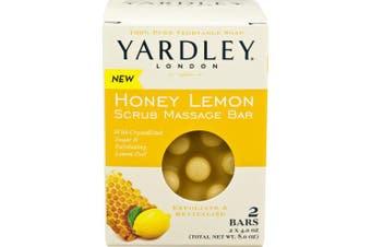 Yardley London Honey Lemon Scrub Massage Bar (2 Bars)