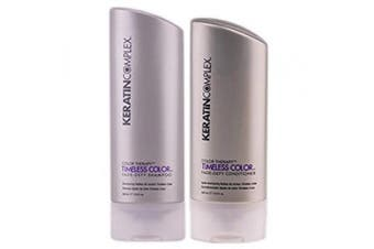 Keratin Complex Colour Therapy Timeless Colour Fade Defy DUO: Shampoo and Conditioner (400ml each)