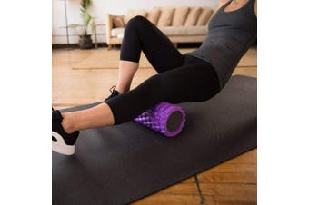 (Violet) - 321 STRONG Foam Roller - Medium Density Deep Tissue Massager for Muscle Massage and Myofascial Trigger Point Release, with 4K eBook
