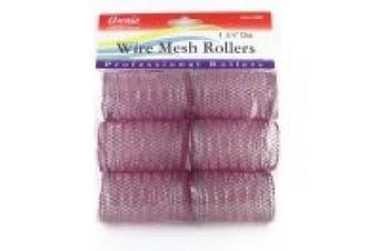 Annie 2.5cm - 1.9cm Jumbo Wire Mesh Hair Rollers - 6 Pcs.