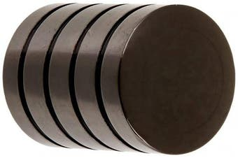 (Black Nickel) - Laurey 26212 Cabinet Hardware 1.6cm Cylinder Knob, Black Nickel