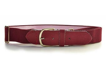 (One Size, Maroon) - BSN Baseball Belt