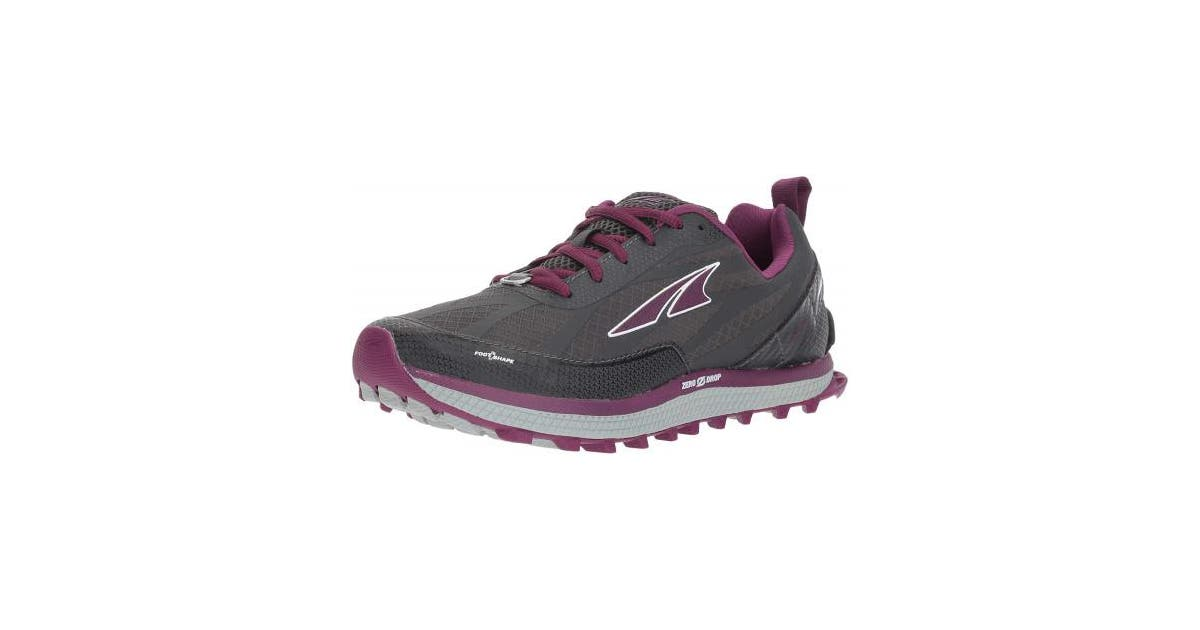 Dick Smith Grey Purple 7 5 Uk Altra Superior 3 5 Womens Zero Drop Trail Running Shoes Grey Purple Footwear Athletic Shoes