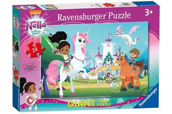 Ravensburger Nella the Princess Knight 24 Giant Floor Jigsaw