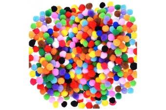 (2000 Pcs (Assorted)) - Acerich 2000 Pcs 1cm Assorted Pompoms Multicolor Arts and Crafts Fuzzy Pom Poms Balls for DIY Creative Crafts Decorations