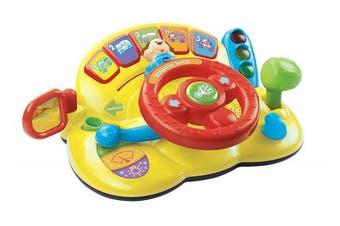 VTech Baby - Crazy steering wheel, children's toy (3480-166622).